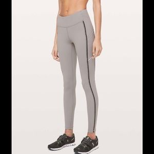 "Lululemon Speed Up Tight * Metallic 28"" size 4"